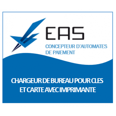 CHARGEUR DE BUREAU CLES CARTE  AVEC IMPRIMANTE
