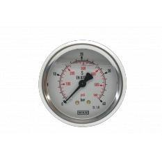 MANOMETRE INOX 0-40 BARS M1/4