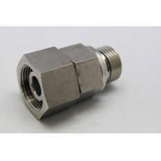 ADAPTATION ORIENTABLE INOX M1/2