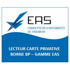 LECTEUR CARTE PRIVATIVE BCK P GAMME EAS - CAPMONETIQUE