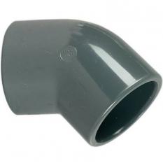 COUDE 45° Ø40 PVC PRESSION