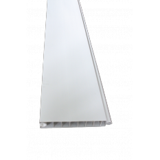 PANNEAU PVC 40x250x1965mm BLANC OPAQUE